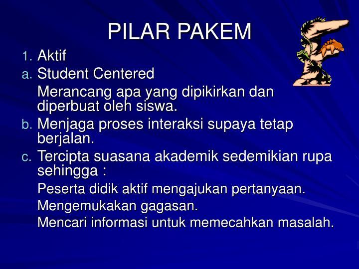 PILAR PAKEM