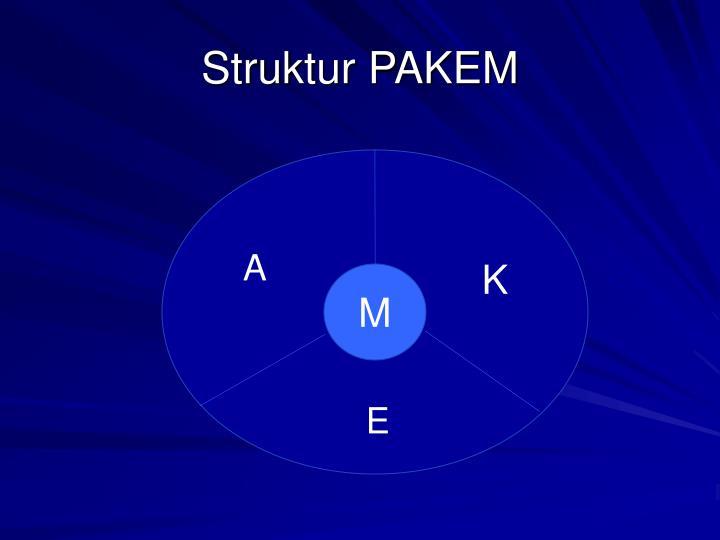 Struktur PAKEM