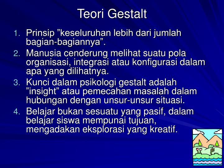 Teori Gestalt