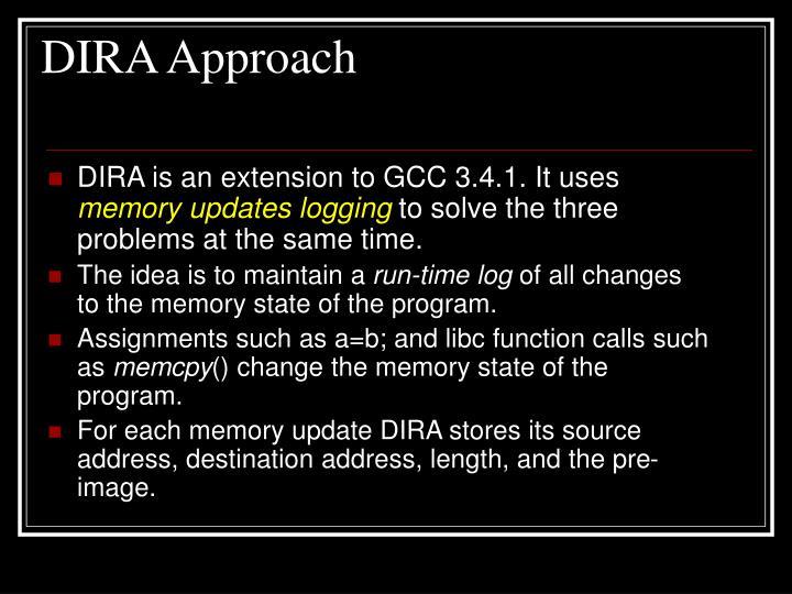 DIRA Approach