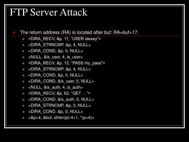 FTP Server Attack
