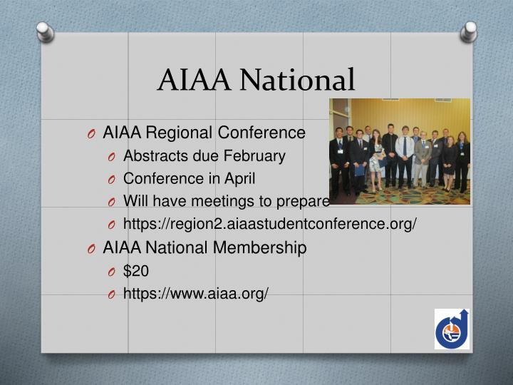 AIAA National