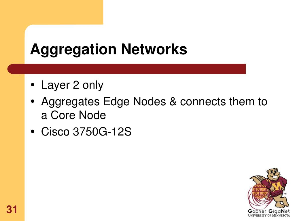 Aggregation Networks