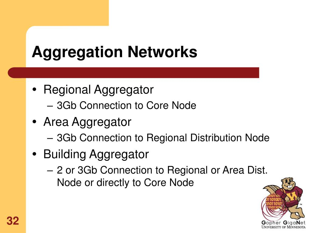 Aggregation Networks