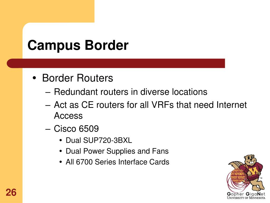 Campus Border