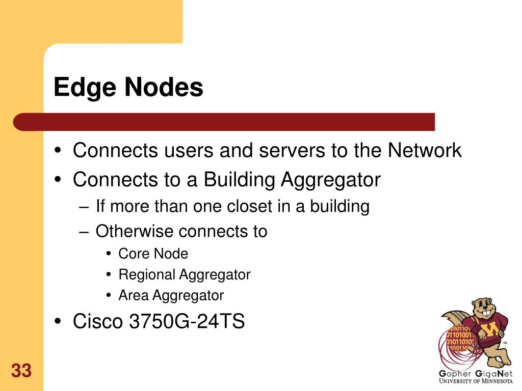 Edge Nodes