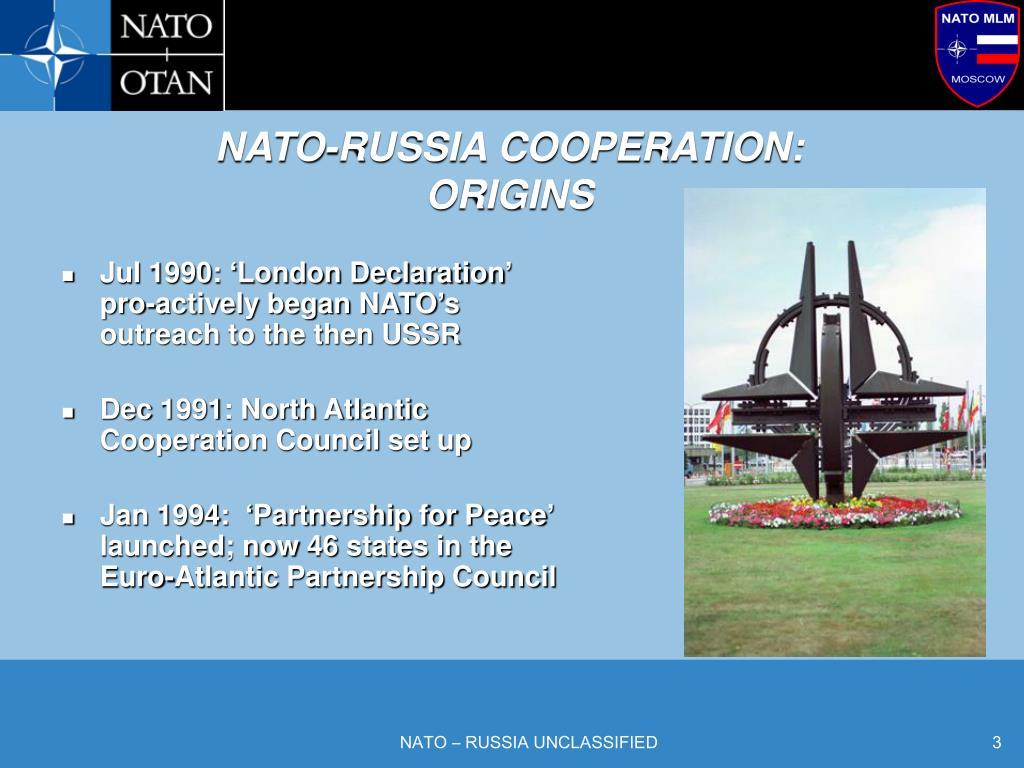NATO-RUSSIA COOPERATION:
