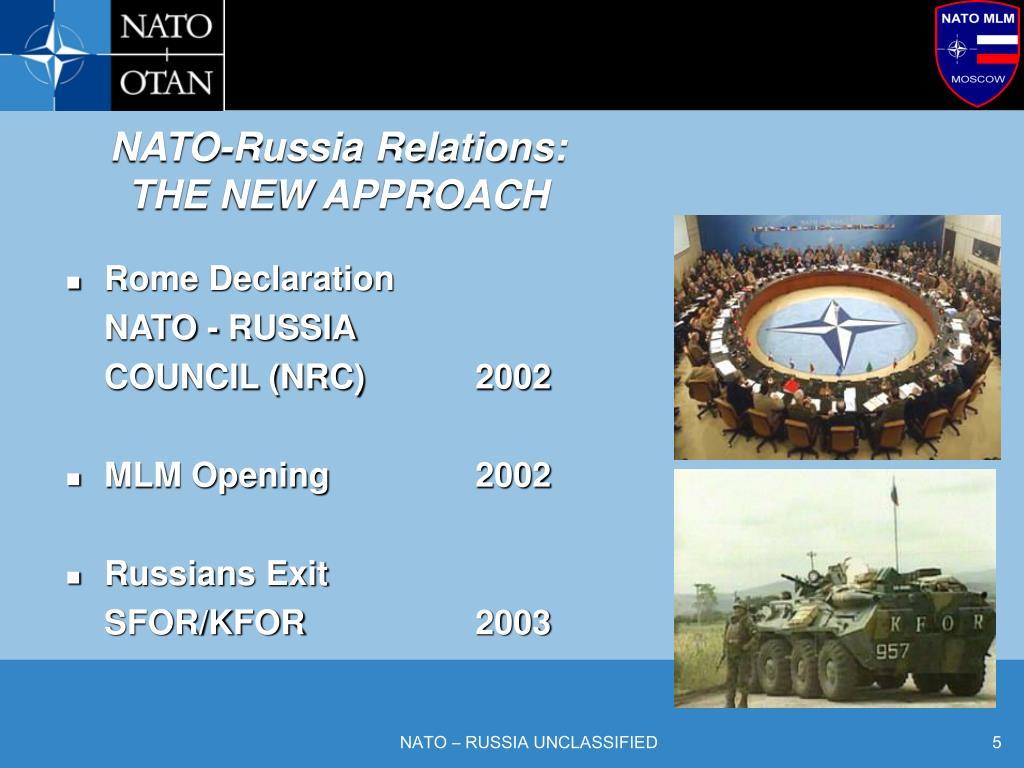 NATO-Russia Relations: