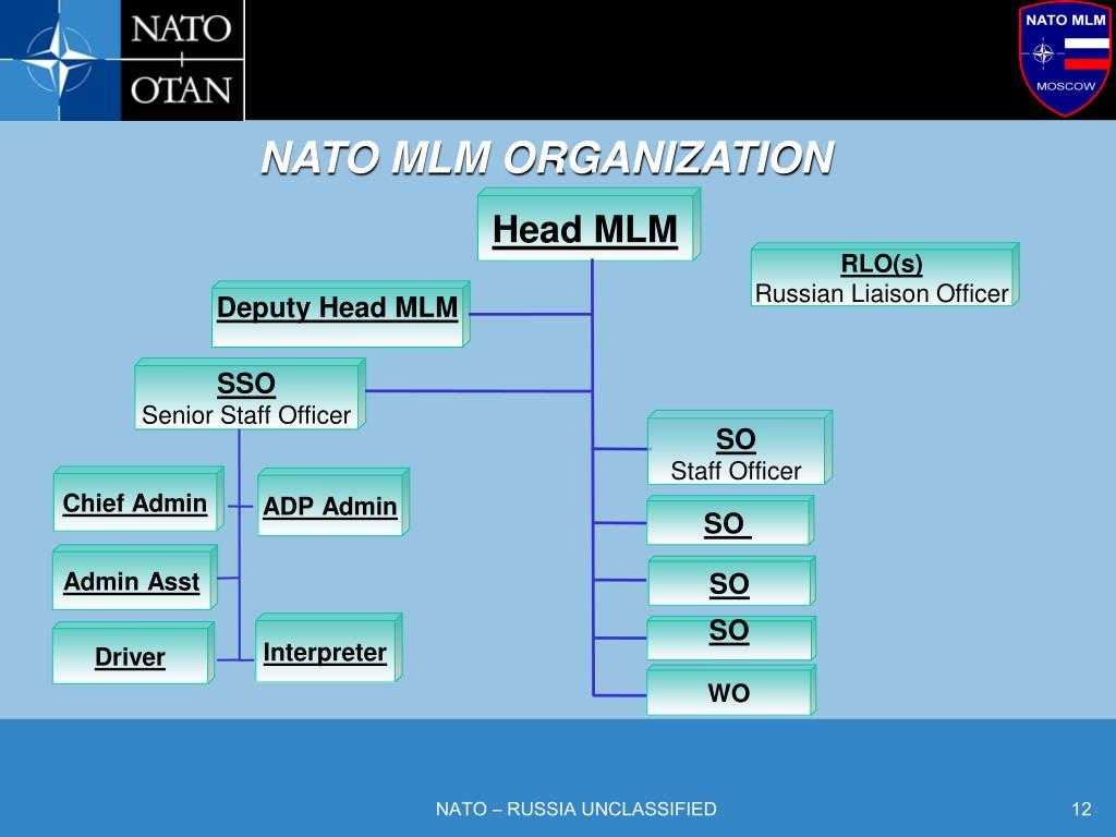 NATO MLM ORGANIZATION