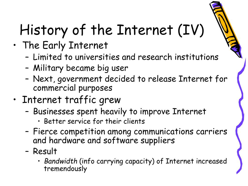 History of the Internet (IV)
