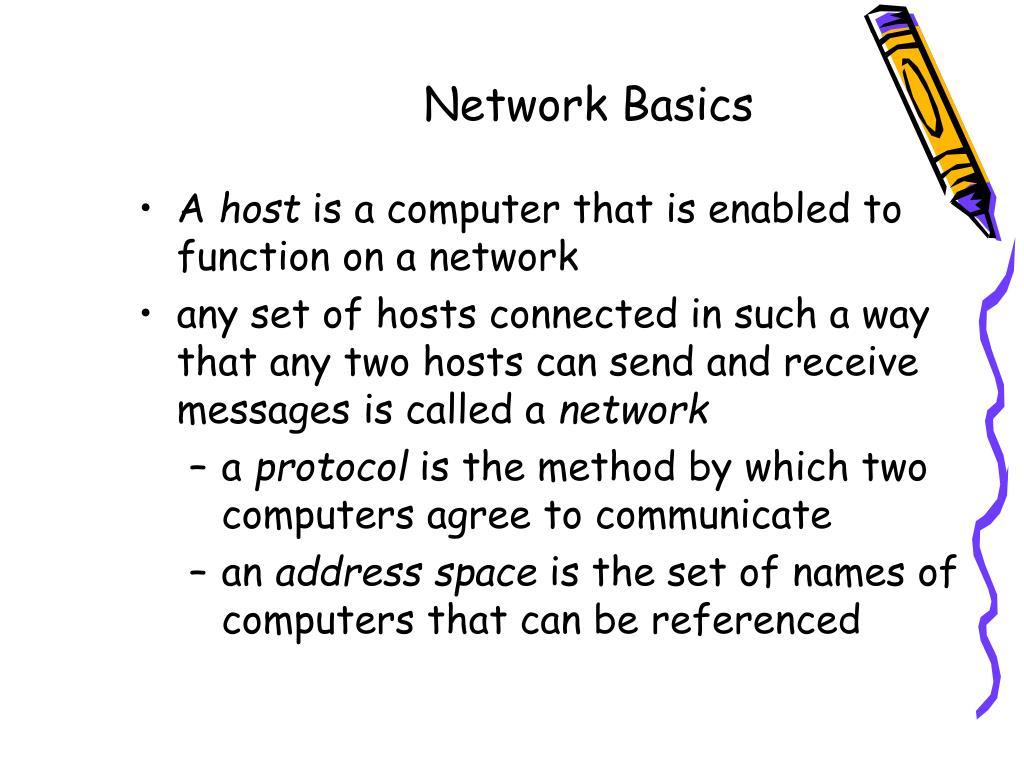 Network Basics