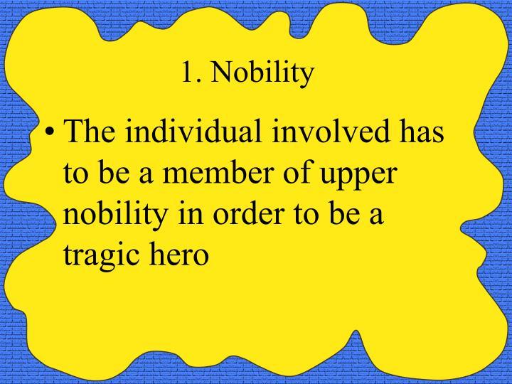 1. Nobility