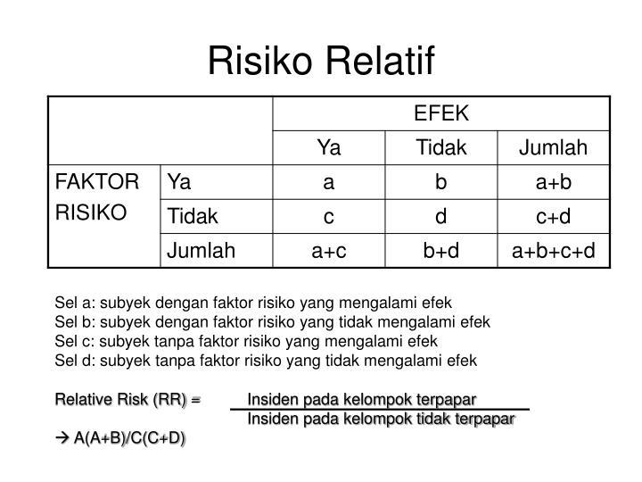 Risiko Relatif