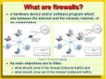 what are firewalls