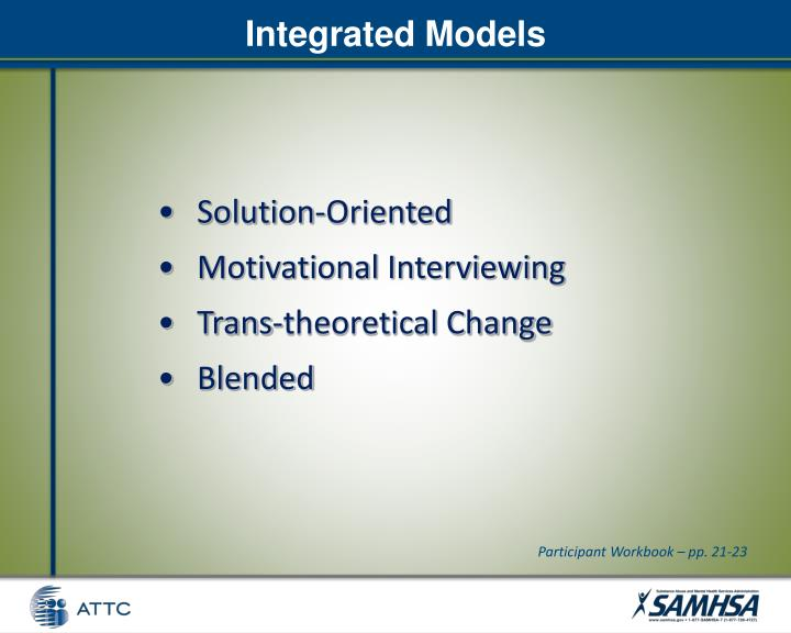 Integrated Models