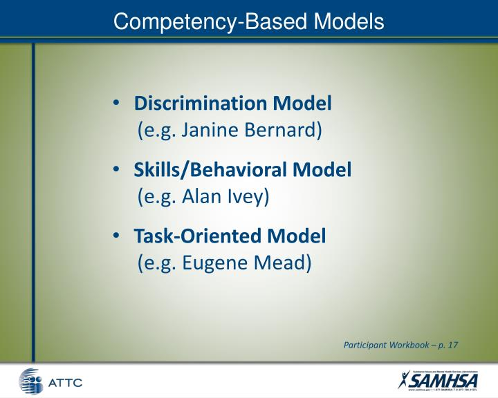 Competency-Based Models