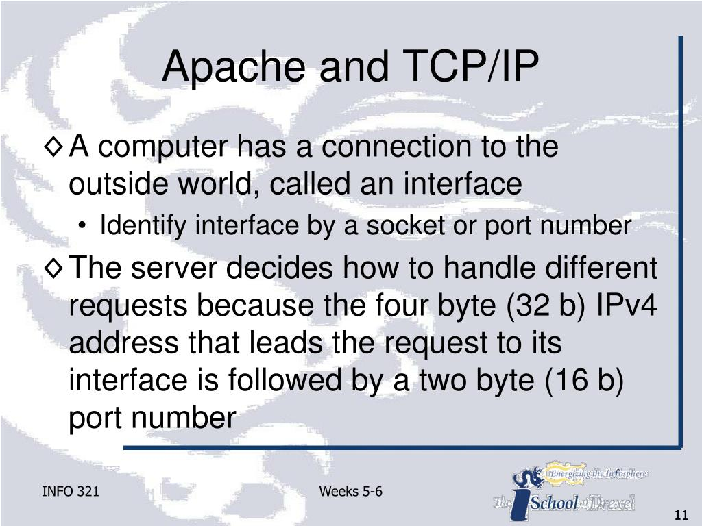 Apache and TCP/IP