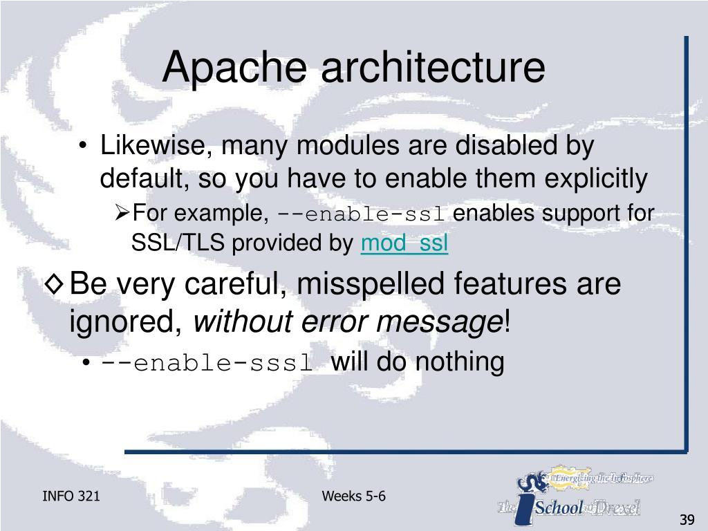 Apache architecture