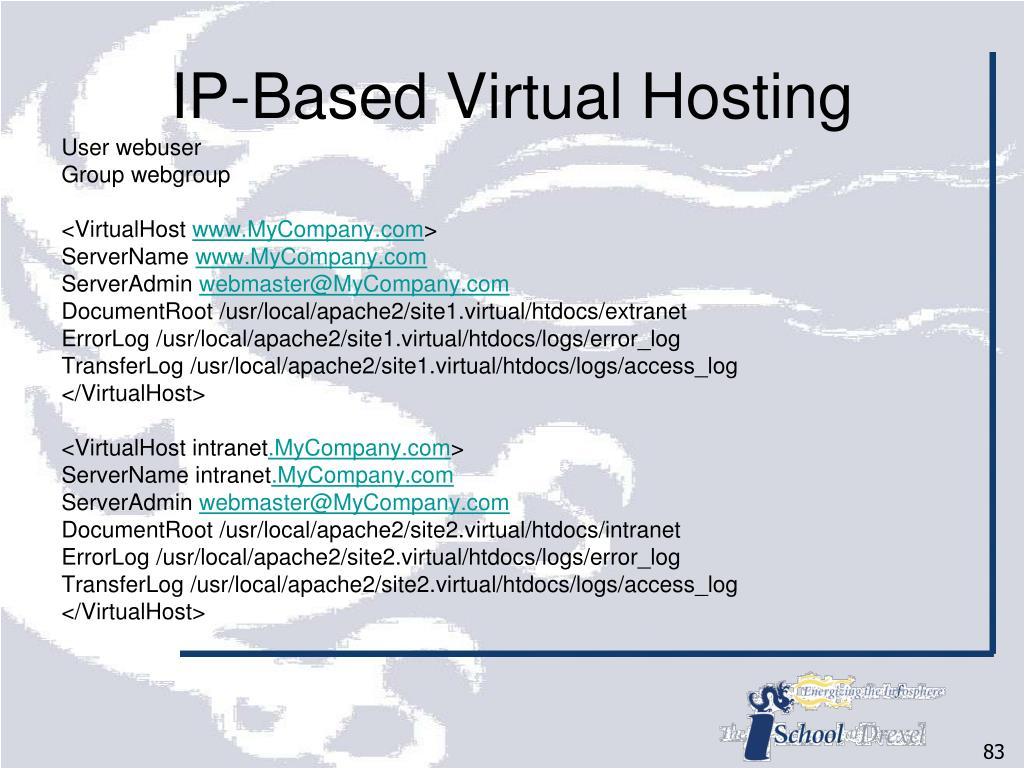 IP-Based Virtual Hosting