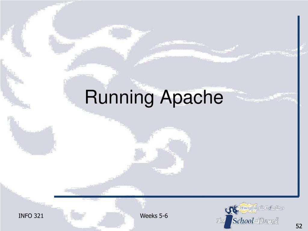 Running Apache