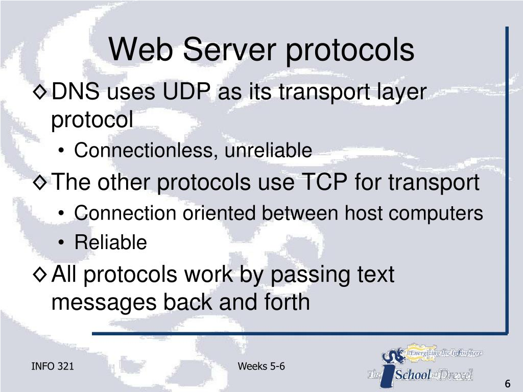 Web Server protocols