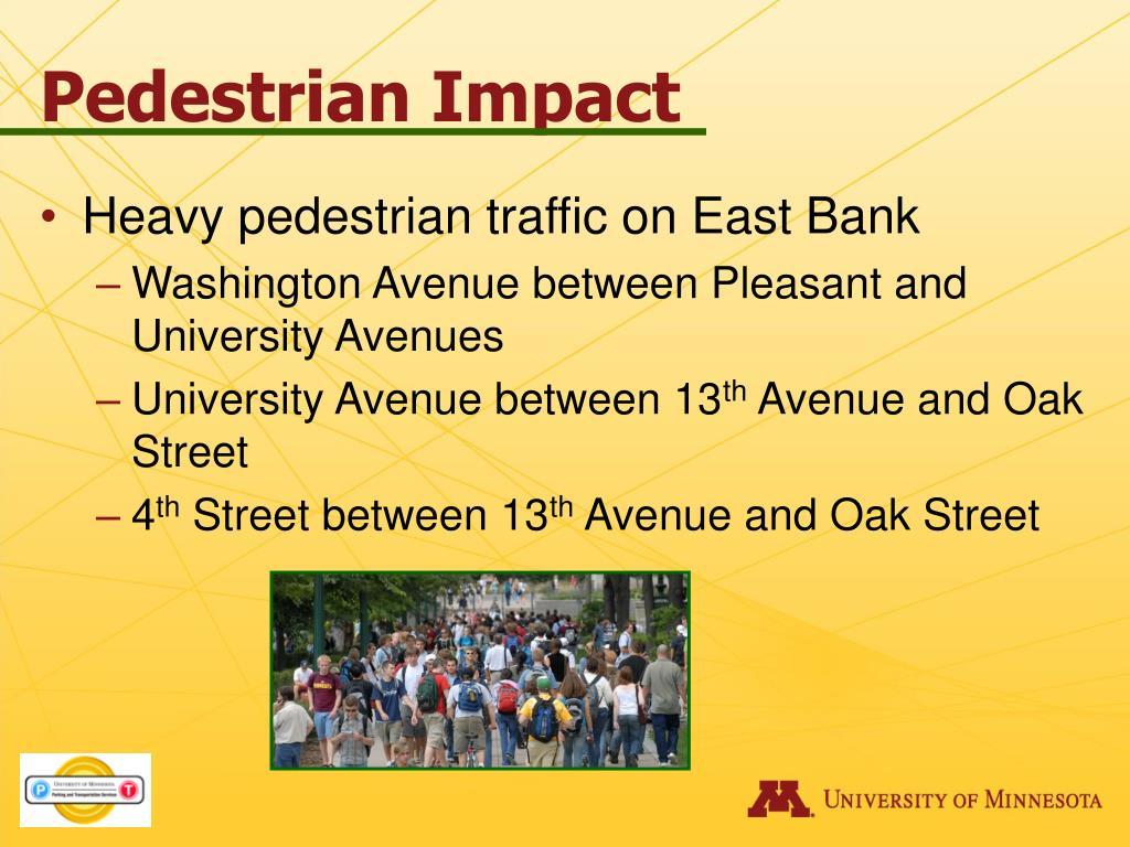 Pedestrian Impact