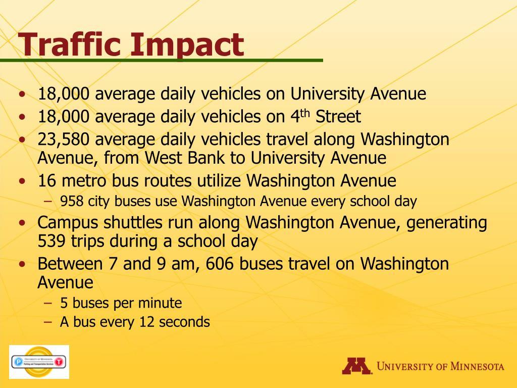 Traffic Impact