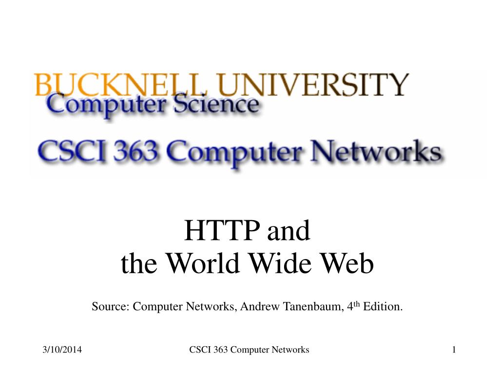 HTTP and