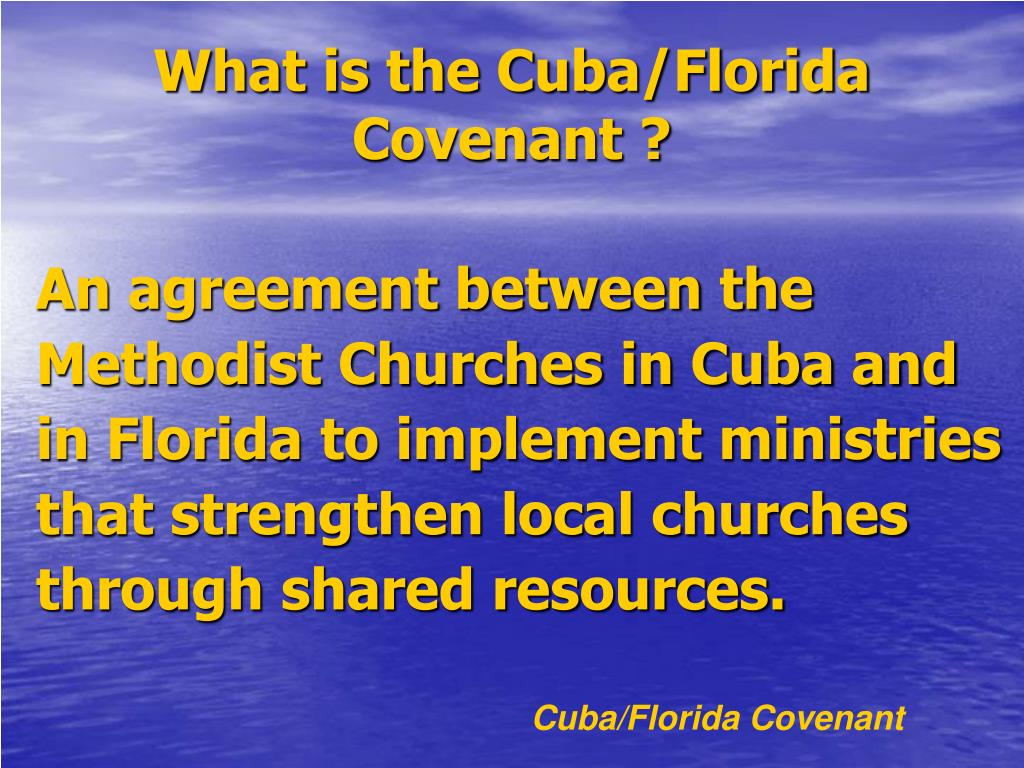 What is the Cuba/Florida