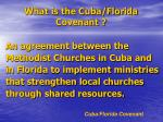 what is the cuba florida covenant