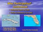 who participates