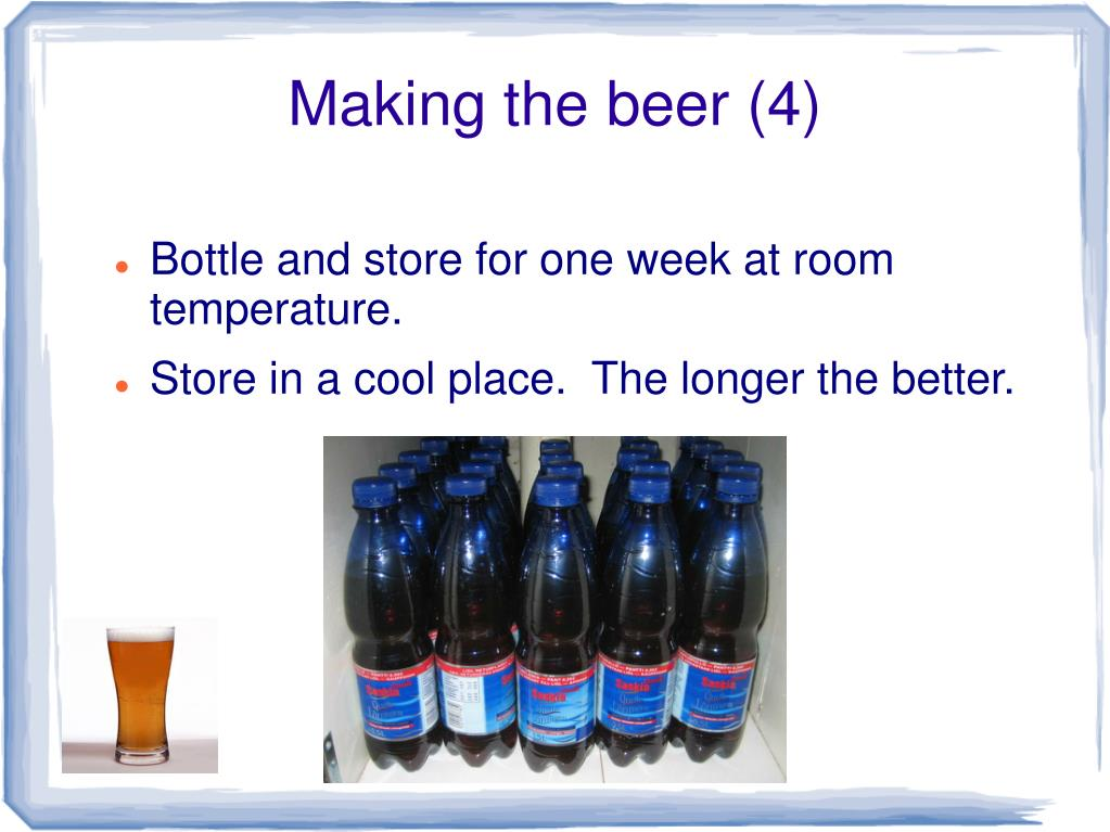 Making the beer (4)