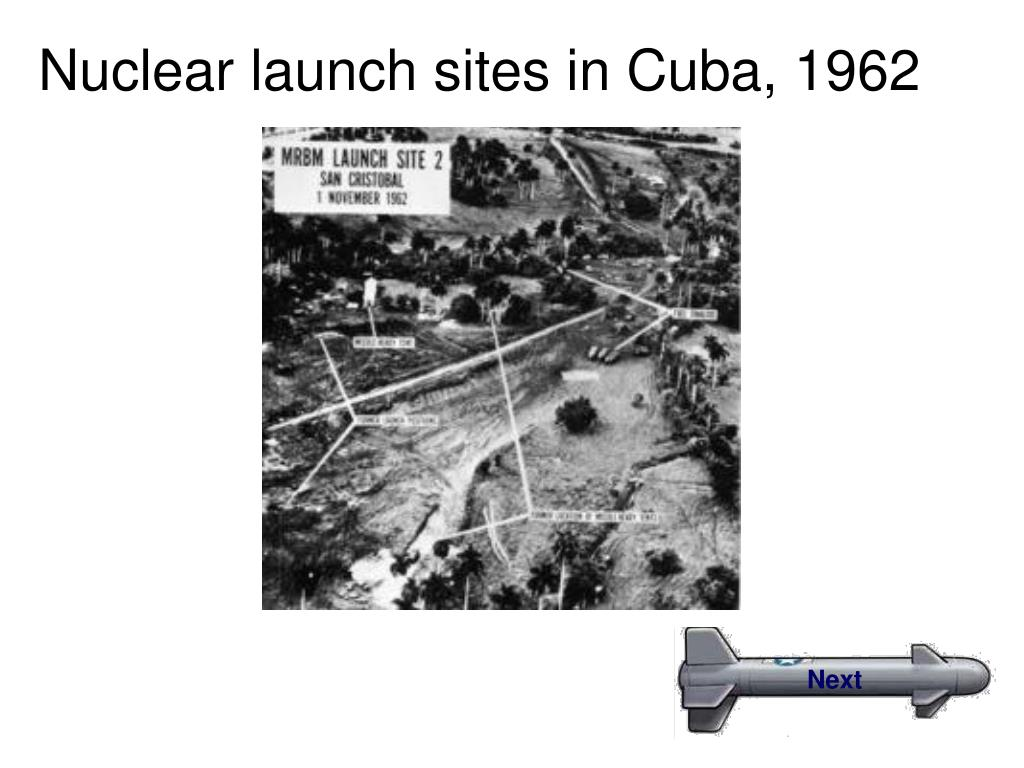 Nuclear launch sites in Cuba, 1962