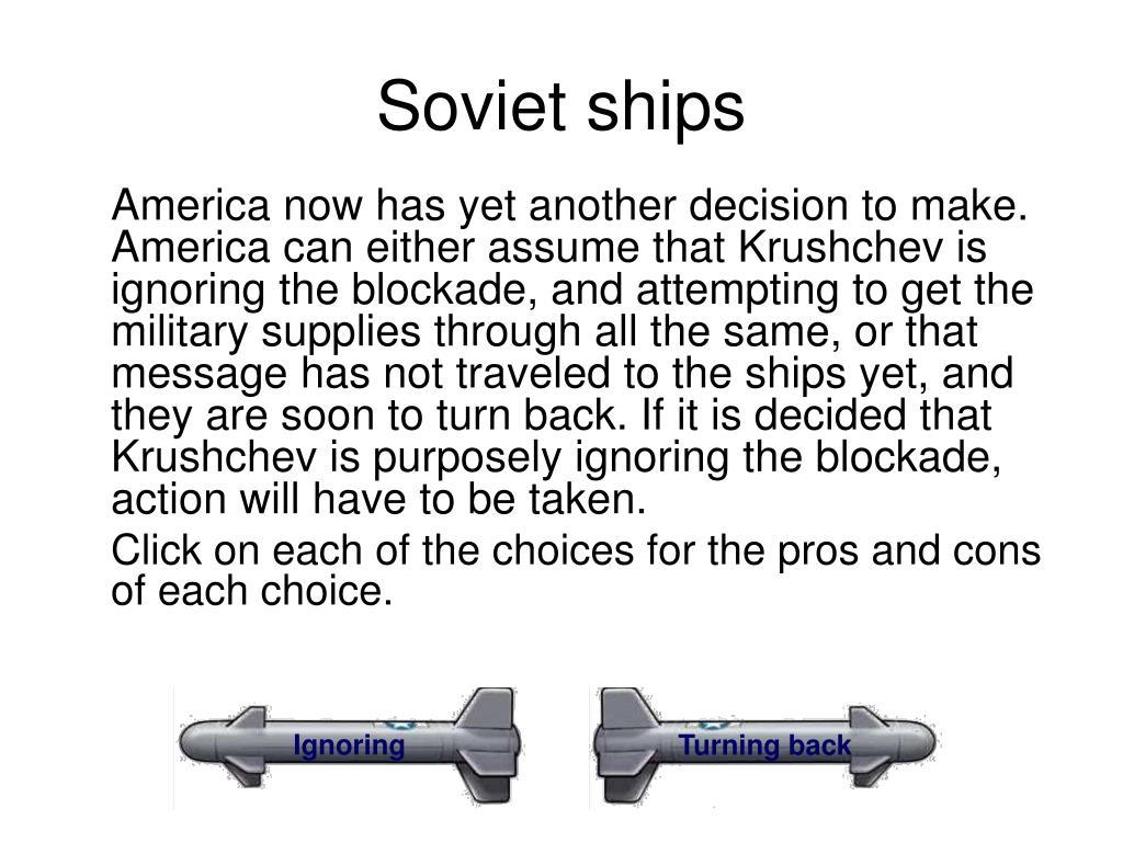 Soviet ships