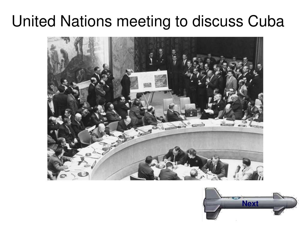 United Nations meeting to discuss Cuba