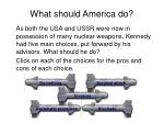 what should america do