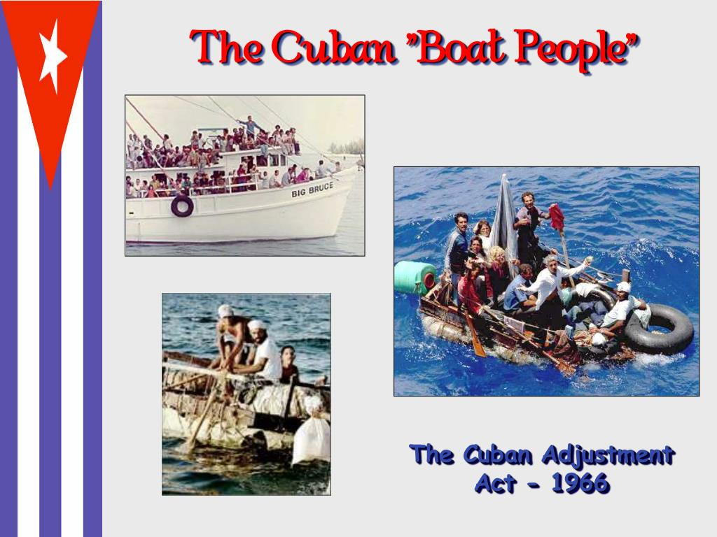 "The Cuban ""Boat People"""
