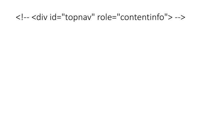 """<!-- <div id=""""topnav"""" role=""""contentinfo""""> -->"""