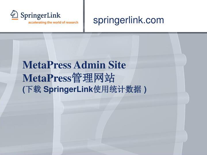 springerlink.com