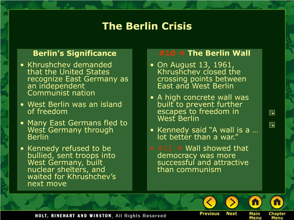 Berlin's Significance
