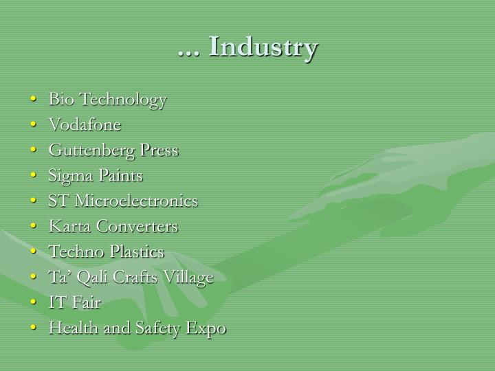 ... Industry