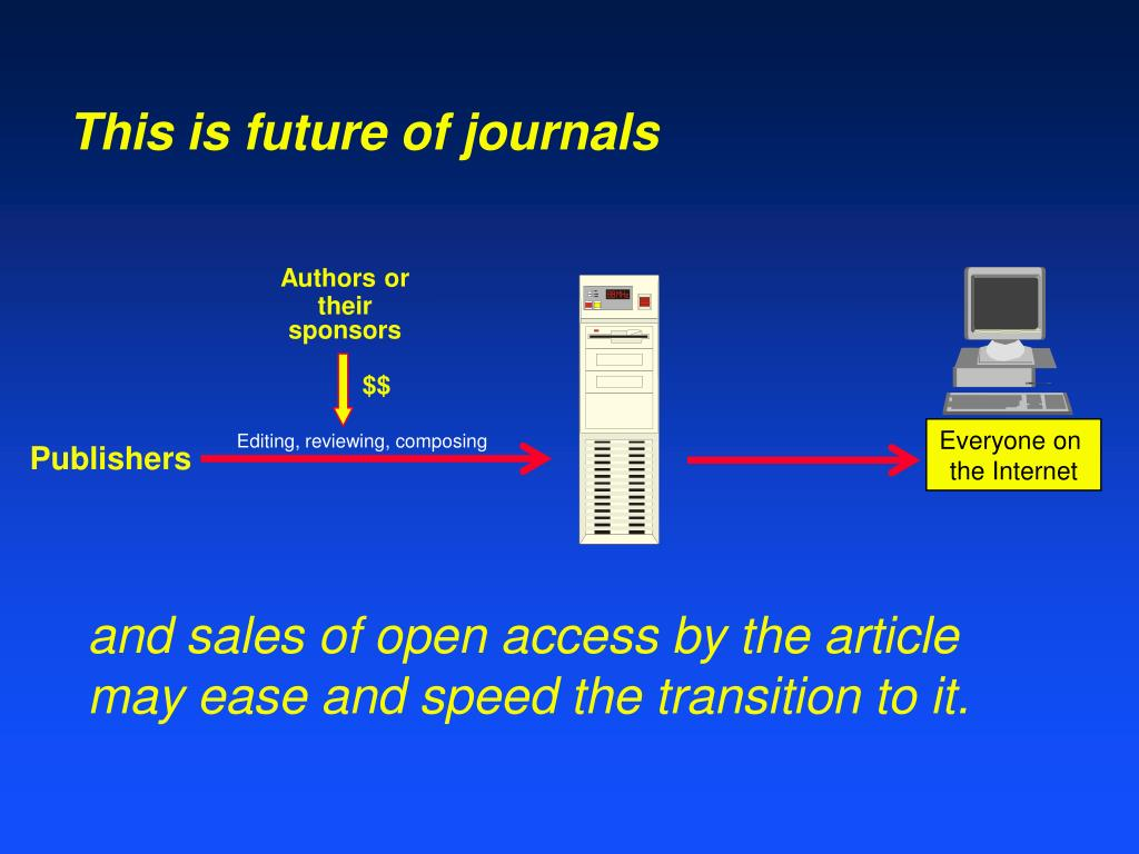 This is future of journals