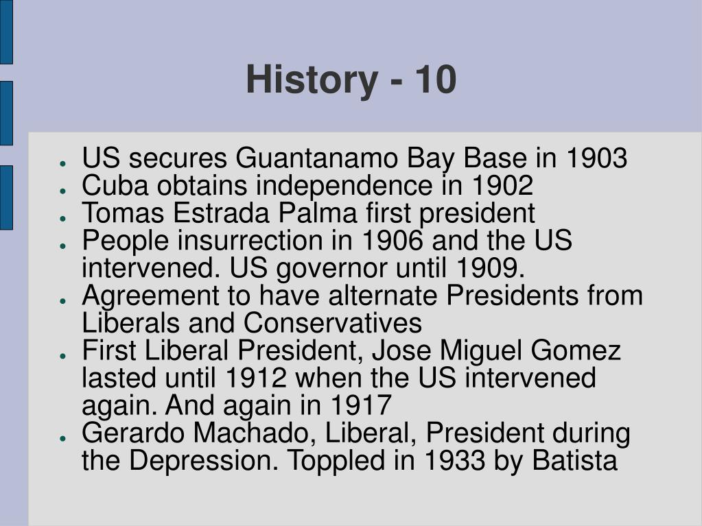History - 10