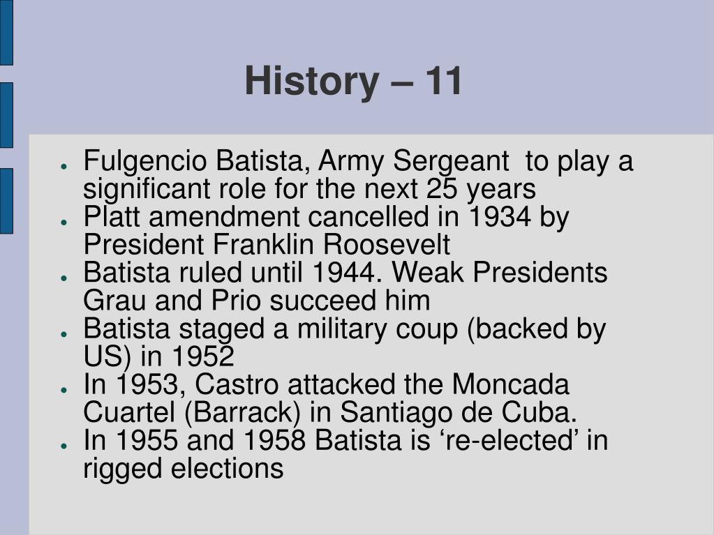 History – 11
