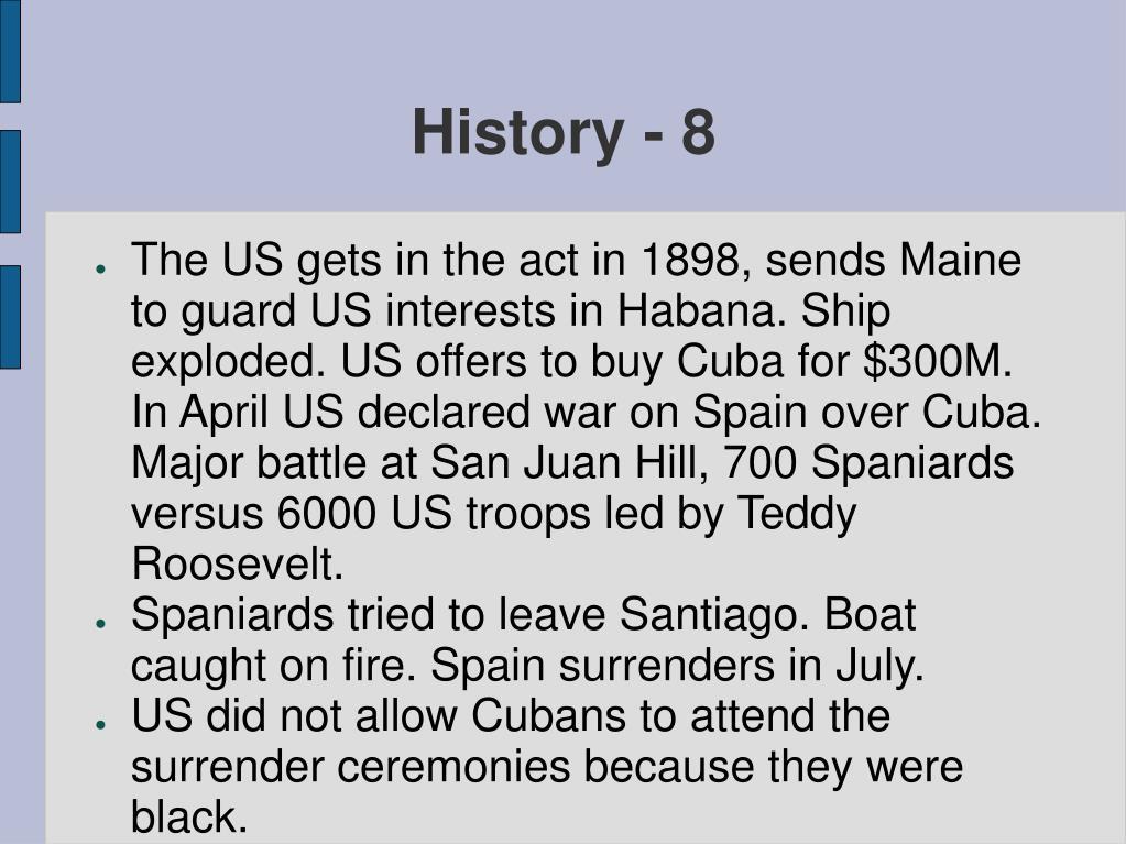History - 8