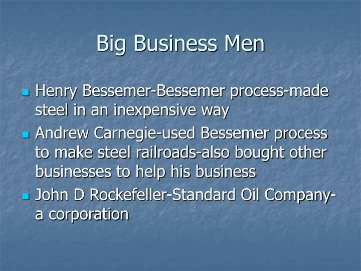 Big Business Men