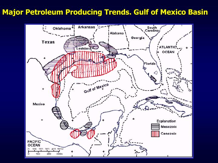 Major petroleum producing trends gulf of mexico basin l.jpg