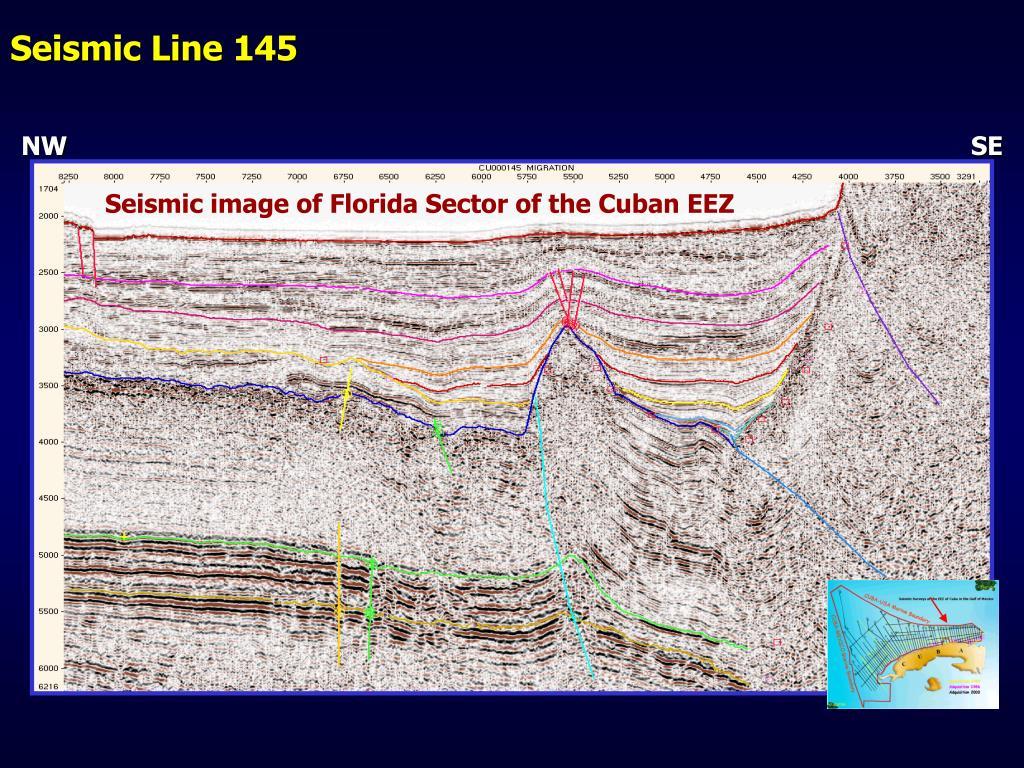 Seismic Line 145