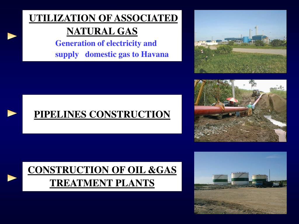 UTILIZATION OF ASSOCIATED NATURAL GAS