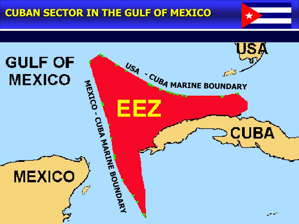 CUBAN SECTOR IN THE GULF OF MEXICO